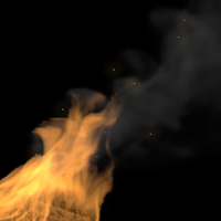 Simulating A Campfire With 3D Studio Max, Thinking Particles & FumeFX